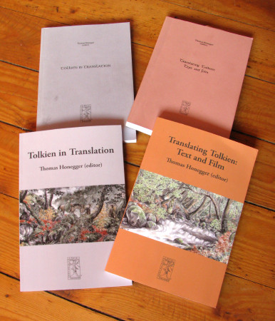 Old and new editions of translation volumes